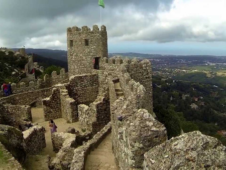 Moorish Castle in Sintra, near Lisbon, Portugal