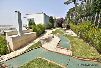 Crazy-Golf: best villa for family holidays