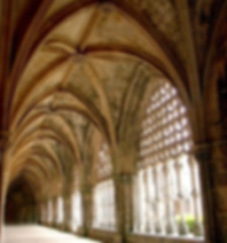 cloisters in the monastery of batalha at 25 minutes away from casa do lago holiday villa