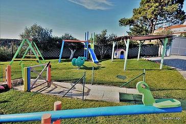 Playground perspective at Casa do Lago