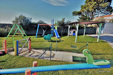 Playground perspective at Casa do Lago