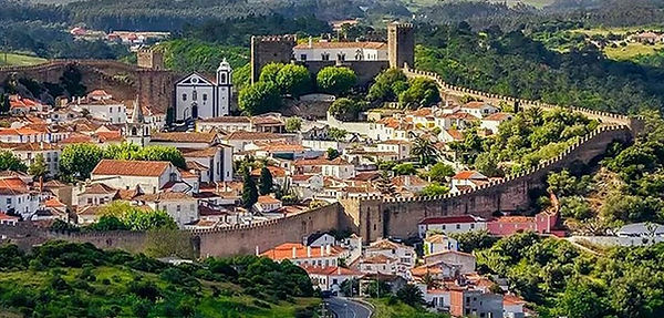 Obidos medieval town in Portugal