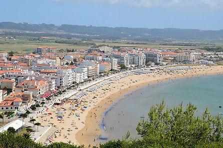 The beach of Sao Martinho do Porto