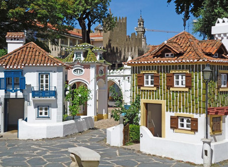 Portugal dos Pequenitos, the Portuguese architecture presented into a doll houses village