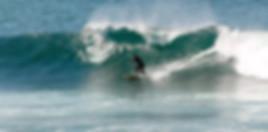 Surf activity near the villa Casa do Lago