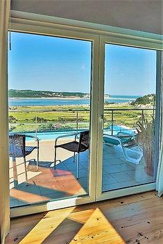 Portugal villa to rent: balcony view