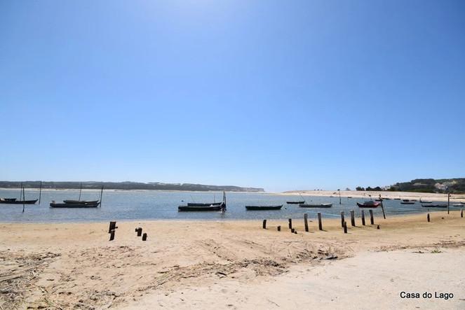beach at Foz do Arelho