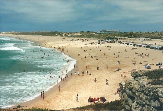 The beach of Praia da Consolacao