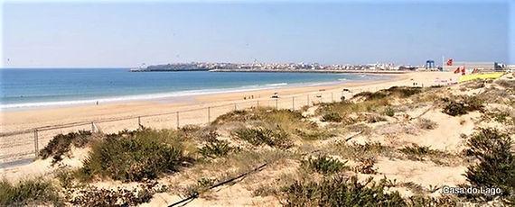 Supertubos beach at Peniche