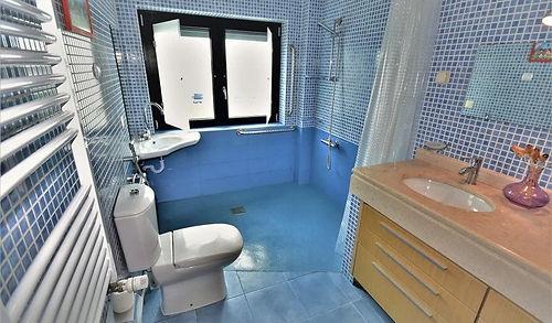 wheelchair adapted bathroom