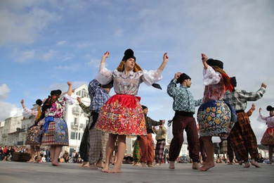 Nazareth folk traditions, Portugal