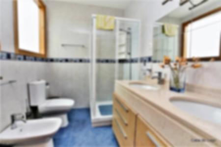 en suite bathroom, casa do lago