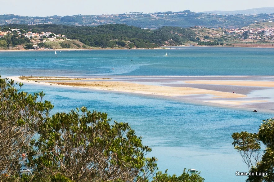 sandbanks: perfect for bird-watching holidays in portugal