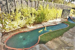 crazy golf detail in casa lago villa