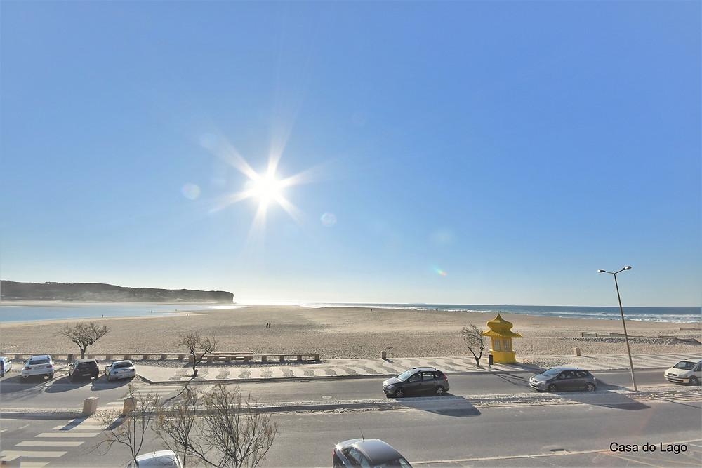 Foz do Arelho beach, Silver Coast, Portugal