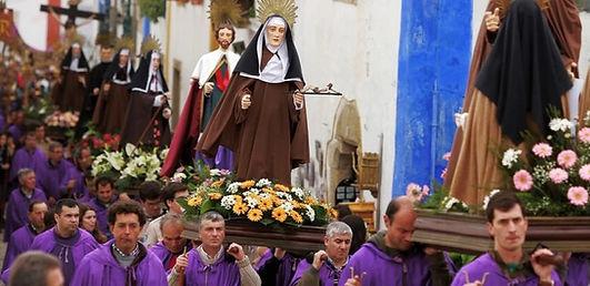 Holy week Celebrations at Obidos