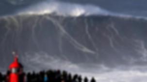Nazare surf, the biggest world wave