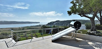 eco friendly water heating system at casa do lago holiday villa