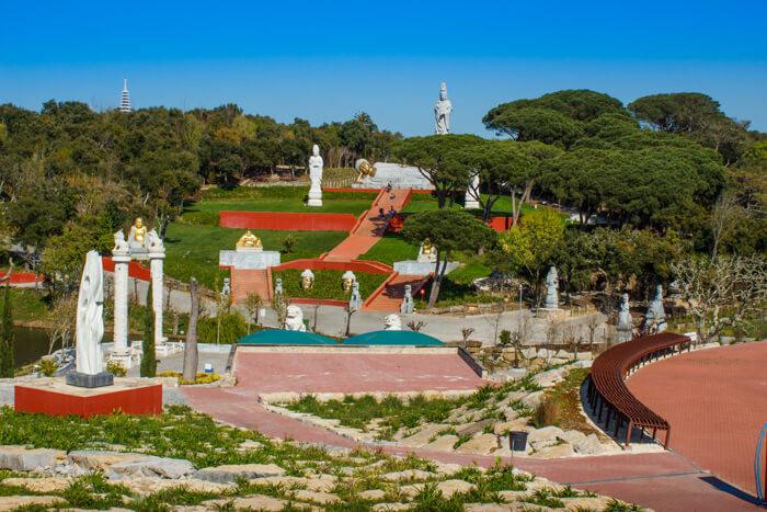Garden of Peace, the Buddha Garden near Casa do Lago