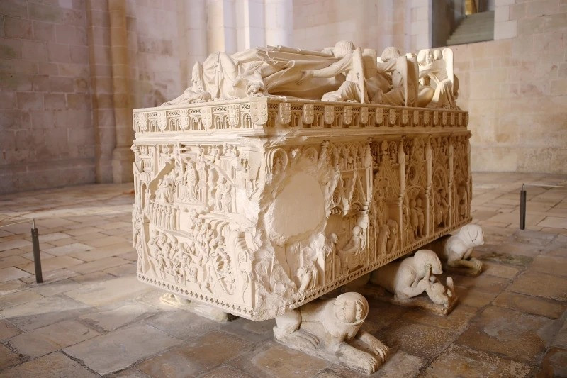 Medieval Masterpiece of the Tombs of Pedro and Ines