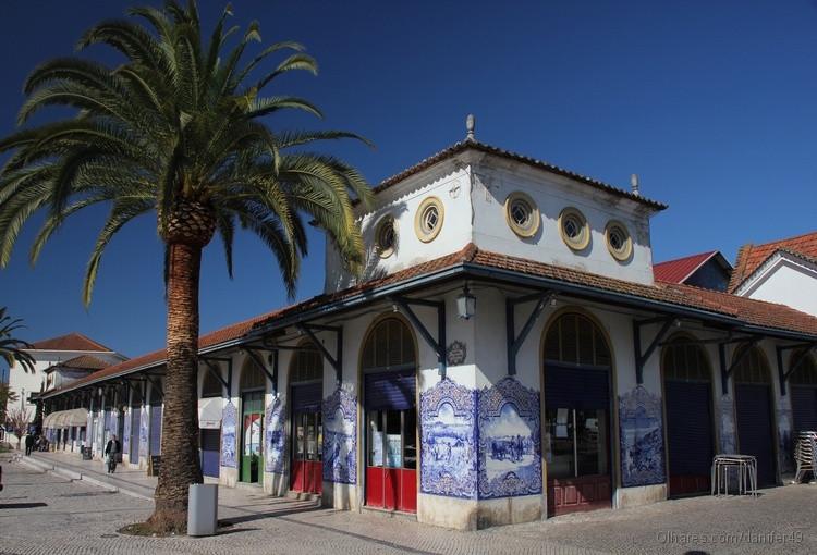 The market building in Santarem