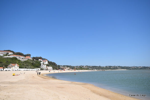 la spiaggia vicino a casa do lago villa in affitto in Portogallo