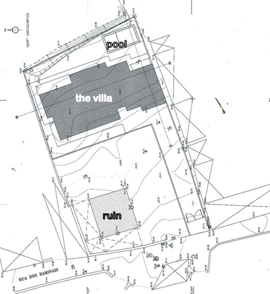 Plans of the 2 plots
