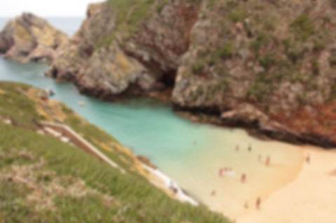 Beach at Berlenga Island