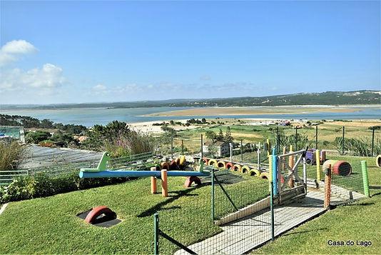 Playground for kids at casa do lago