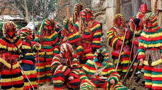Caretos in Podence, a Celtic origin festivity