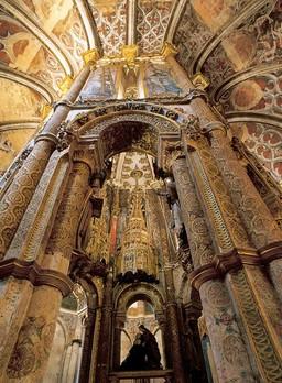 """Charola"" of Convento de Cristo in Tomar"