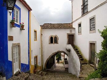 Obidos Detail: Silver Coast Portugal
