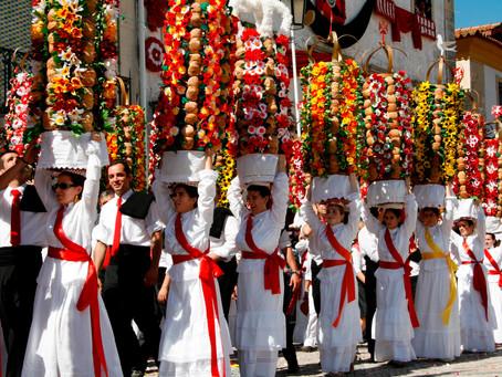 Portuguese traditions: The Festa dos Tabuleiros!