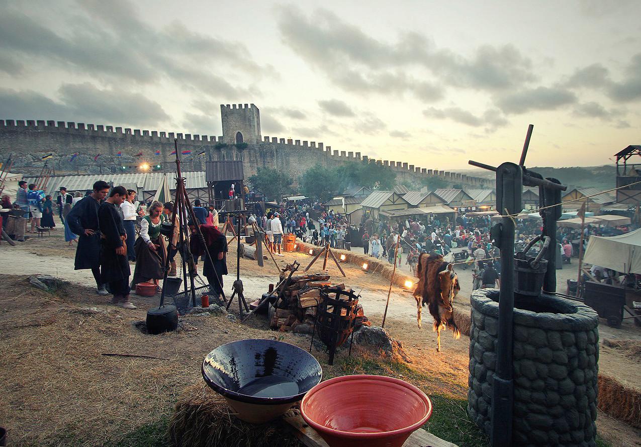 Medieval recreation at Obidos