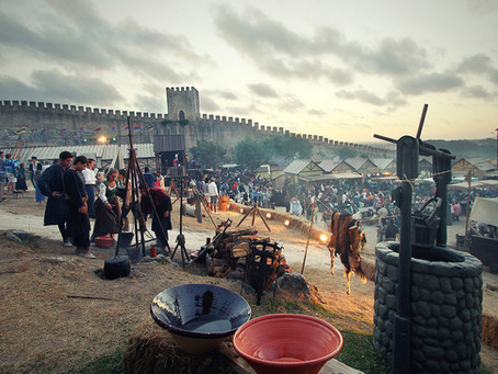 Medieval festival at Obidos: occurring in July the 2021 edition!