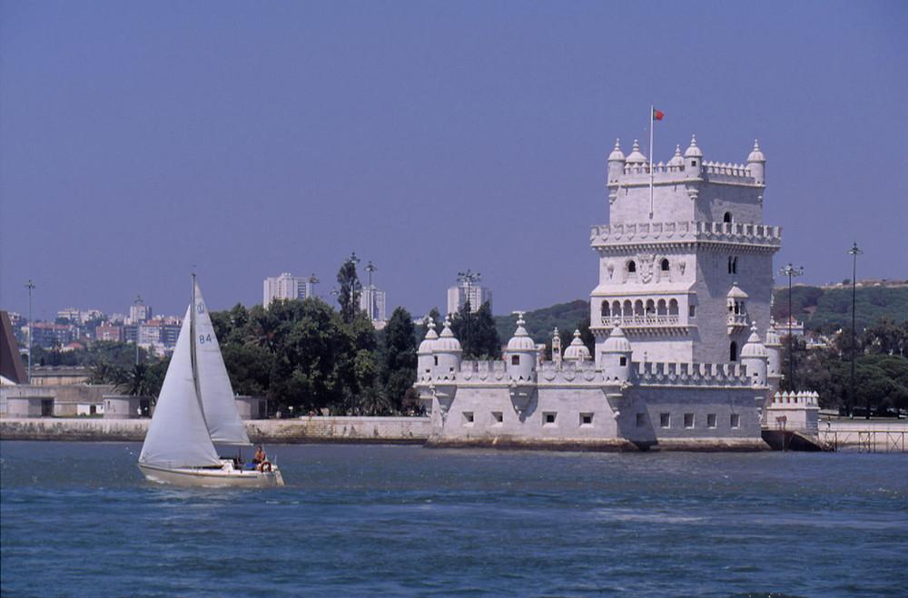 Belem Tower in Lisbon, Portugal