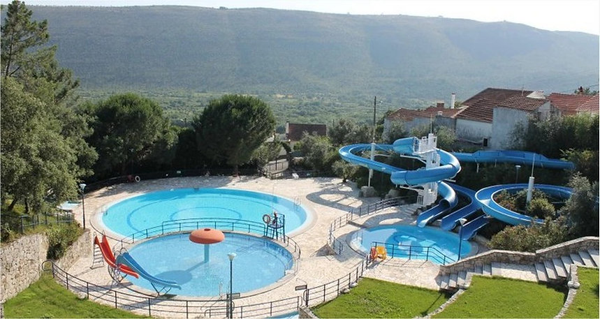water park at Mira de Aire caves