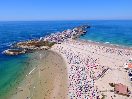 The Village of Baleal, located in a former island connected to shore by fantastic beaches.
