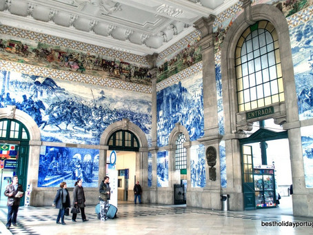 The history of the Portuguese tiles traditional art.