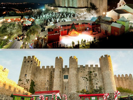 Christmas in Obidos medieval village: dive into a magical world!