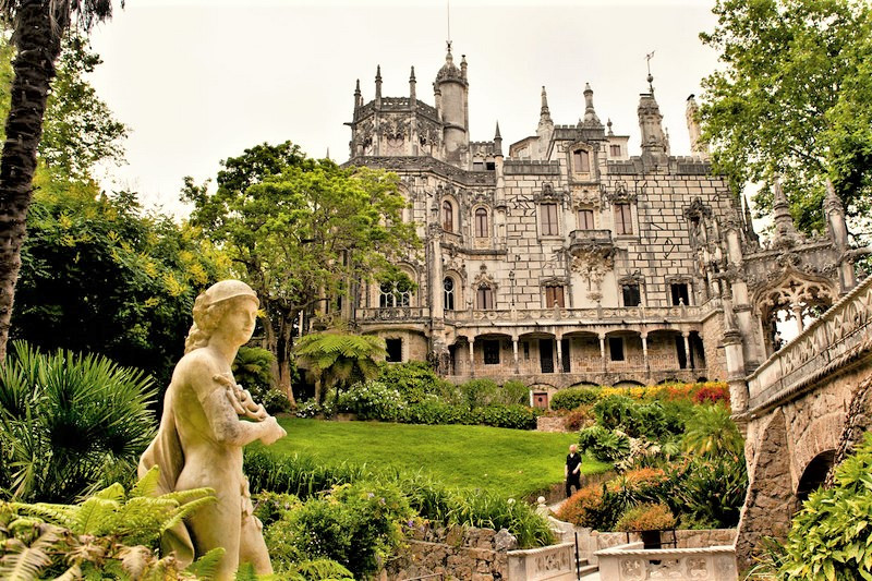 Sintra, Portugal, Casa do Lago