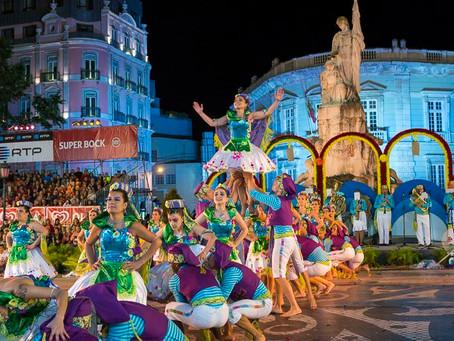 Popular Festivities of Lisbon, held in June