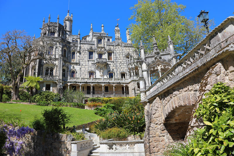 The mystic Palace of Quinta da Regaleira, in Sintra, Portugal