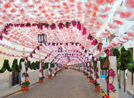 Flower festivities in Campo Maior, a popular tradition in Portugal