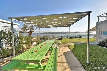 Barbecue panoramic terrace