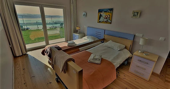 Disabled adapted bedroom