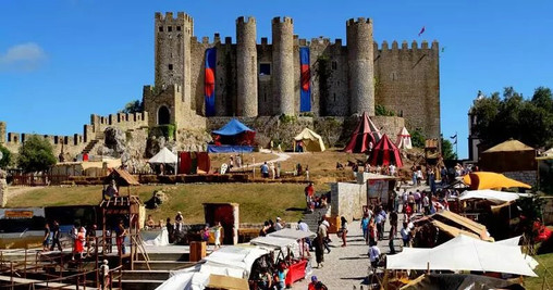 Obidos medieval festival, Portugal