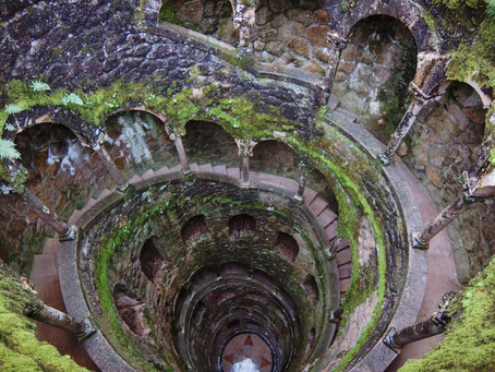 Quinta da Regaleira, a very surprising and enigmatic monument at Sintra, Portugal