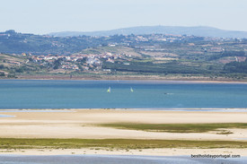 Casa Lago: Sailing on Obidos lagoon