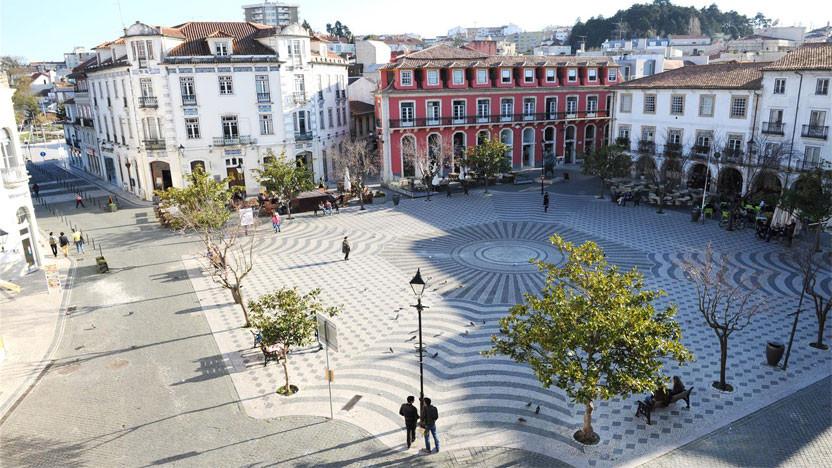 Rodrigues Lobo Square in Leiria